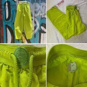 Vintage OP Neon Drawstring Pants